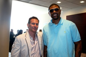 Gavin Keilly and Jalen Rose